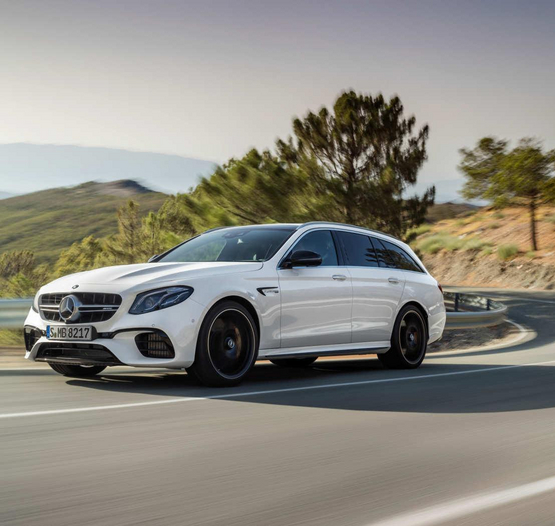 Mercedes-AMG E 63 T-Modell - der Performance Lademeister