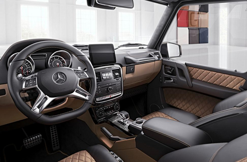 Mercedes Benz G Klasse AMG Exclusive Edition Interieur bei RKG