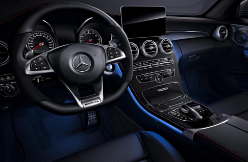 C 43 4MATIC Coupé & Cabriolet Night Edition Interieur