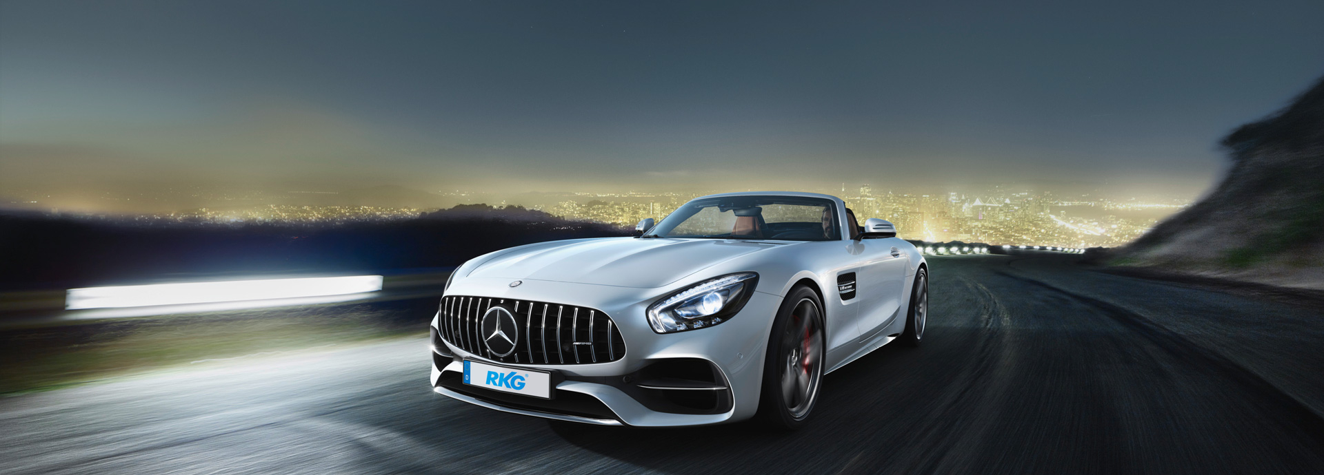Mercedes Benz AMG - Purest Driving Performance bei RKG