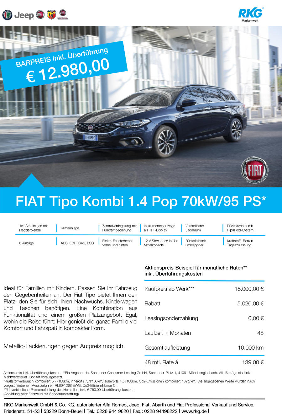 Tipo ab 139€ ohne Anzahlung RKG